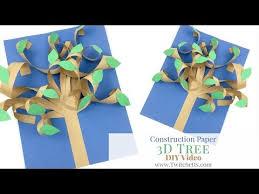 3D Paper Tree