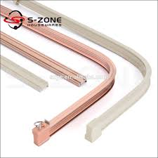 Ceiling Mount Curtain Track Bendable by Alibaba Manufacturer Directory Suppliers Manufacturers