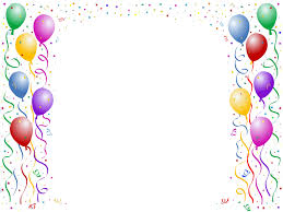 Balloon Border Backgrounds For Powerpoint