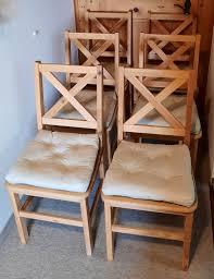 6 esszimmer stühle aus massivholz fsc kaufen auf ricardo
