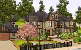 Mock Tudor House Photo by Mod The Sims Alcester House Modern Mock Tudor 3