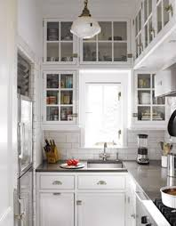 Fabulous French Country Kitchen Style Featuring White Color Wooden Designs With Cabinets And Countertops