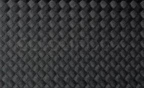 Closeup Of Black Rubber Mat Texture