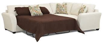 Used Tempurpedic Sleeper Sofa by Transitional Sectional Sleeper Sofa With Dreamquest Mattress By