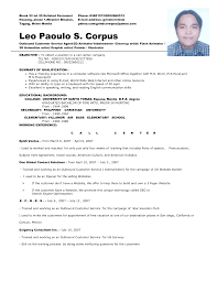 Call Center Resume Job Examples MyPerfectResume Com