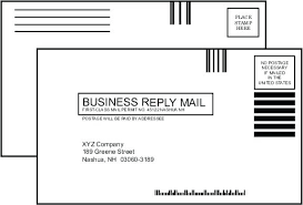 Usps Templates Business Reply Mail Card Template Postcard Guidelines Size Download