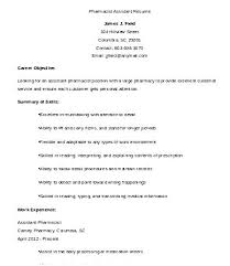 Clinical Pharmacist Resume Examples Of Pharmacy Assistant Sample Associate Res