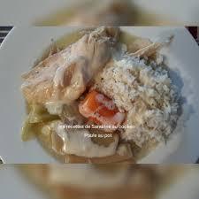 recette poule au pot riz poule au pot et sa sauce blanche au cookeo les recettes de