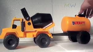 Concrete Mixer Toys For Children | Monster Cement Truck Toy | Truck ...