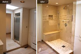 Shower Renovation Diy by Master Bathroom Renovation Toronto Before And After Pictures