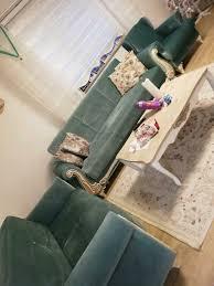 3 2 1 türkis sofa
