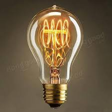 incandescent bulb e27 40w 220v retro edison style light bulbs us