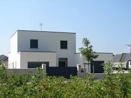 maison en cube moderne maison cube contemporaine à troyes