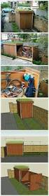 Rubbermaid Slim Jim Storage Shed Instructions by Best 25 Trash Can Ideas Ideas On Pinterest Rustic Kitchen Trash