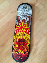 Tony Hawk Signed Skate Deck by My Signed Tas Pappas Deck Given To Me By Tas Sk8 Collectors Cave