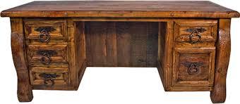 Old World Rustic Desk Pine Office