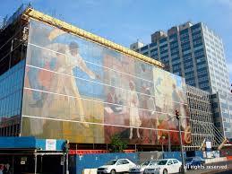 Harlem Hospital Glass Mural by Malcolm X Boulevard Mapio Net