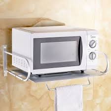 Wall Mounted Microwave Oven Shelf Bracket Kitchen Pics With