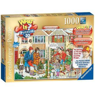Ravensburger What If? No.20 - Christmas Lights 1000pc Jigsaw Puzzle