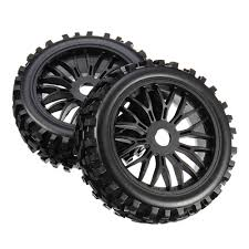 100 Monster Truck Tires For Sale 2pcs 17mm Tyre Tires Wheel For 18 Rc Car Off Road Monster Truck