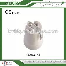 e27 porcelain l holder with bracket ceramic e27 bulb holder e14
