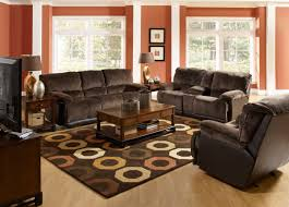 Dark Brown Leather Couch Living Room Ideas by 45 Beautiful Mandatory Living Room Rustic Design With High Ceiling