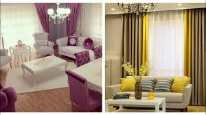 Stylish Living Room Curtains Design Ideas 2018