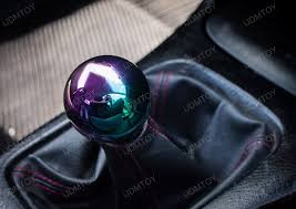 JDM Neo Chrome Round 5MT 6MT Manual Replacement Shift Knob