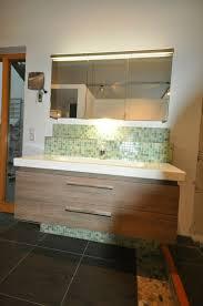 burgbad badmöbel waschtisch unterbau m spiegelschrank eiche