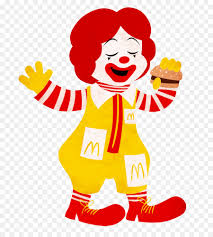 Ronald McDonald Cartoon McDonalds McDonaldland Drawing