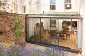 100 Glass Extention Extension To Listed House In Clifton UK DHV Architects
