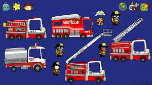 Custom Fire Trucks In Scribblenauts Unlimited Image - TheBowMan ...