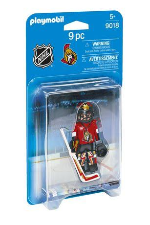 Playmobil NHL Hockey Ottawa Senators Goalie Playset