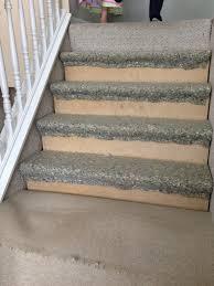 Long Floor Staple Remover by Remodelaholic 60 Carpet To Hardwood Stair Remodel