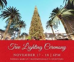 Tree Lighting Ceremony At Fashion Island