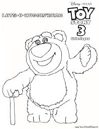 Coloriage A Imprimer Toy Story 3 Huggin L Ours Gratuit Et Colorier