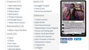 mtg deck standard top 3 decks in standard magic the gathering deck list