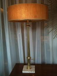 Stiffel Floor Lamps Vintage by Of Vintage Stiffel Brass And Marble Lamps