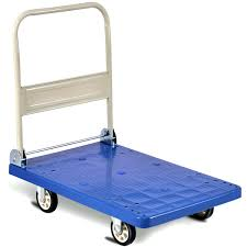 Costway: Costway 660lbs Platform Cart Folding Dolly Hand Truck Push ...