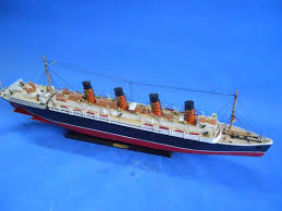 buy rms lusitania limited model cruise ship 30 inch wholesale