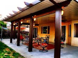 Aluminum Patio Covers Las Vegas by Roof Patio Covering Amazing Patio Roof Kits Pergola Patio Covers
