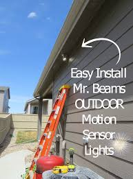 Review Outdoor Motion Sensor Lights LED Mr BEAMS With Our