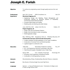 How To Write A Resume For A First Job With No Experience