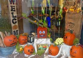 Pumpkin Contest Winners by Retail Winners Of The Pumpkin Show Window Decorating Contest