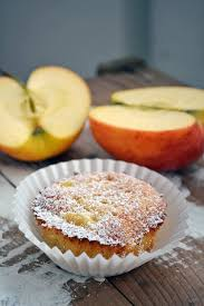 marzipan apfel muffins