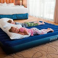 Intex Inflatable Pull Out Sofa by Intex Inflatable Pull Out Sofa Queen Bed Mattress Sleeper 68566 E