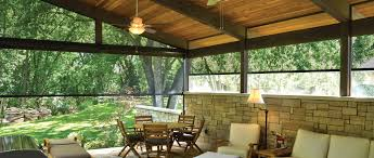 Outdoor Shades For Patio by Oasis 2900 Solar Insect Screen Innovative Openings