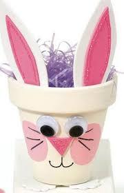 10 Ideias De Decoracao Para A Pascoa Com Vasos Bunny CraftsPreschool Easter