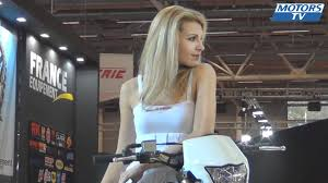 The Most Beautiful Girls At Paris Motorcycle Scooter And Quad Show 2011
