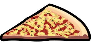 Pizza Food Slice Cheese Italian Fast Food